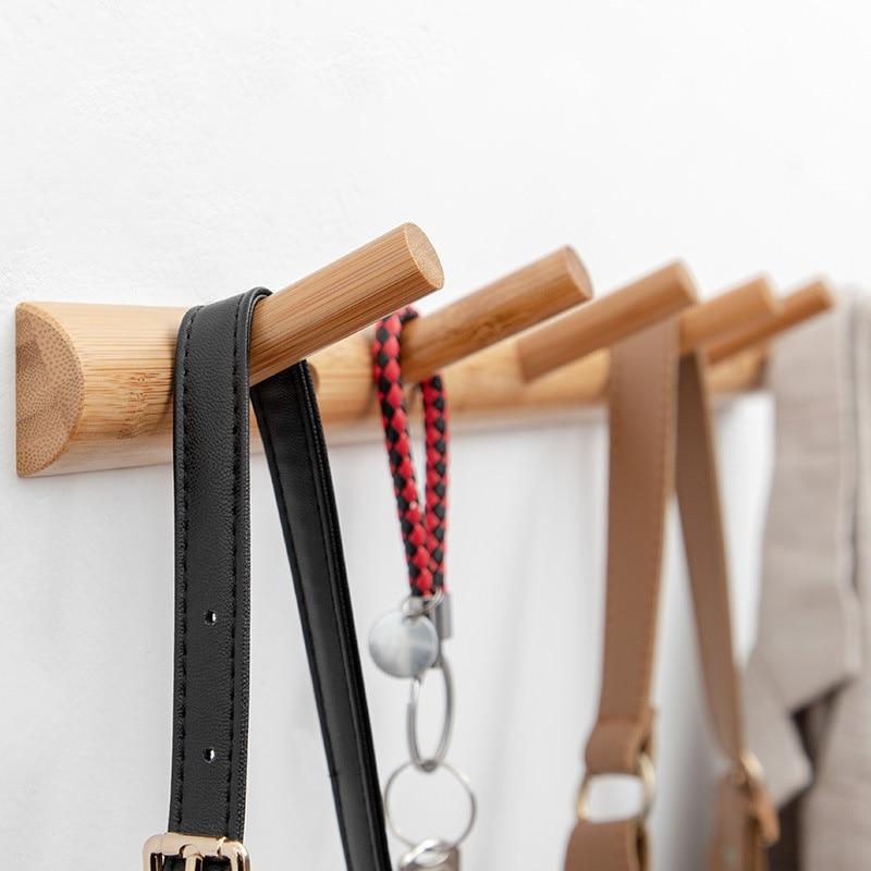 3/4/5 Nordic Simple Bedroom Door Back Coat Rack Clothes Hanger Hooks Living Room Closet Metal Hat Racks Keys Hanger Wall Hook