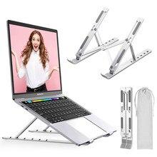 Suporte portátil portátil portátil suporte portátil portátil portátil suporte portátil portátil suporte tablet base ajustável para pc macbook pro notebook suporte