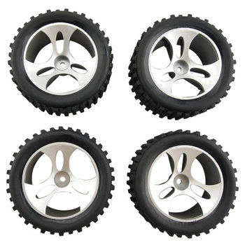 4Pcs Wheels for Wltoys A959 A959-01 Accessories Rc Car Spare Parts