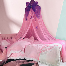 Crib-Netting Butterfly Girls Moustiquaire-Net Bedding Dome Double-Bed Home-Decor Baby
