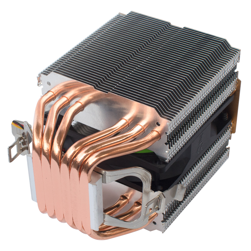 coolangel 6 Heat Pipes CPU Cooler 4 Pin PWM RGB PC quiet Intel LGA 2011 775 1200 1150 1151 1155 AMD AM3 AM4 90mm CPU Cooling Fan 5