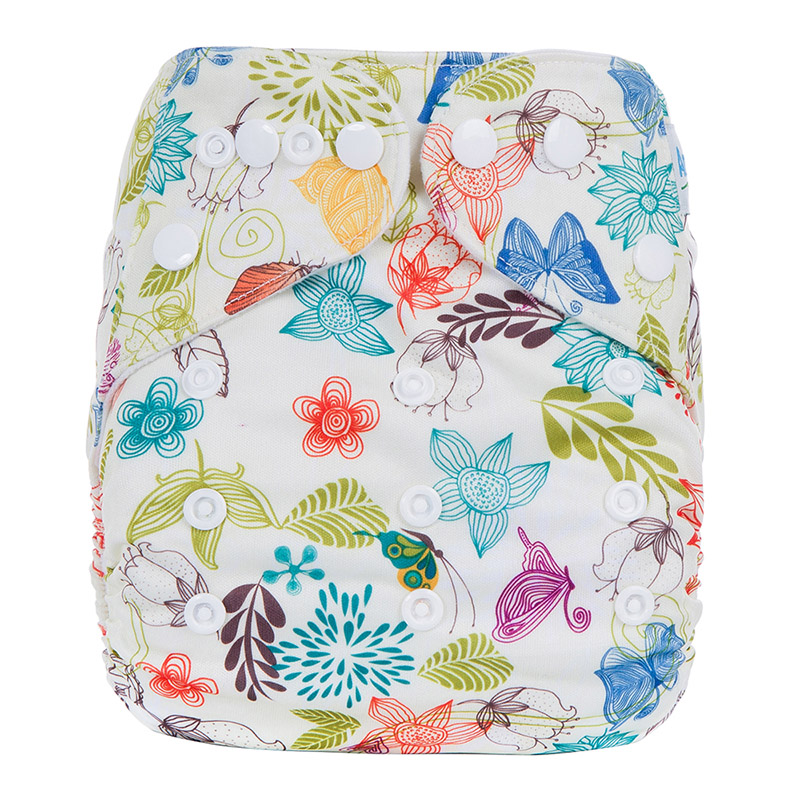 Cotton Baby Cloth Diaper Pants Organic Diaper Covers Baby Cloth Diaper Without Insert J5