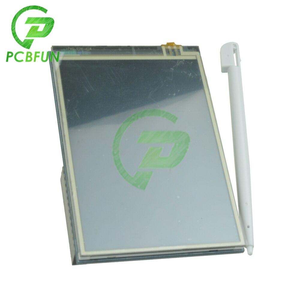 3,5 zoll 320x480 TFT LCD Touch Screen Display Modul Touchscreen 320x480 SPI RGB Display für raspberry Pi B B + für Arduino