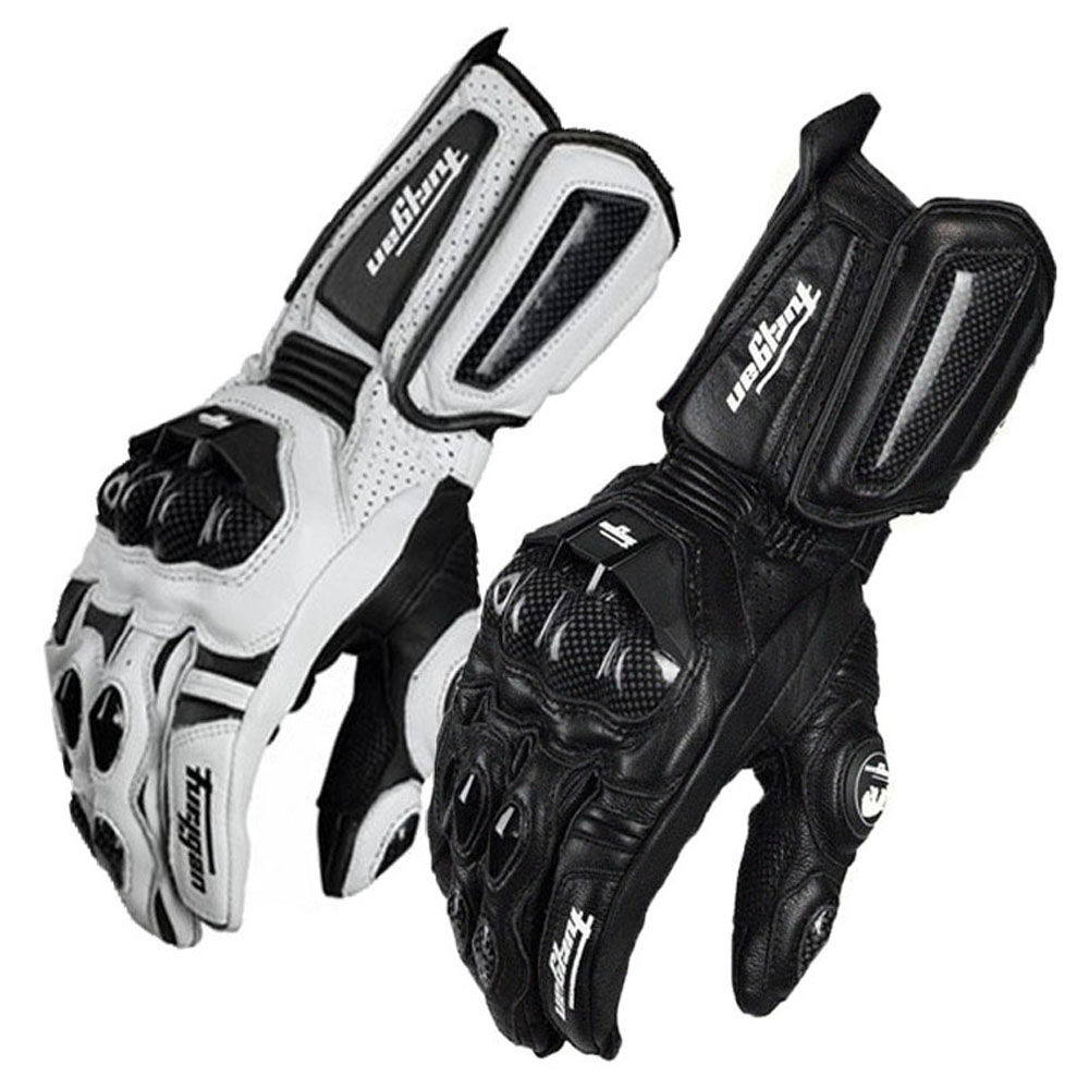 Motorcycle-Gloves Furygan Cycling Genuine-Racing-Gloves Long-Section Protective-Gear