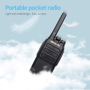 Image 2 - A Pair RETEVIS RT28 Walkie Talkie PMR Radio VOX PMR446 FRS Micro USB Charging Portable Mini Two Way Radio Station Transceiver