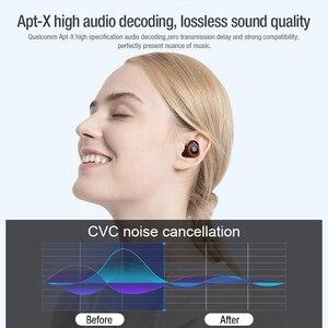 Image 5 - אמיתי אלחוטי אוזניות Qualcomm aptx Nillkin Bluetooth אוזניות עם מיקרופון CVC רעש ביטול אוזניות אוזניות IPX5 מים הוכחה
