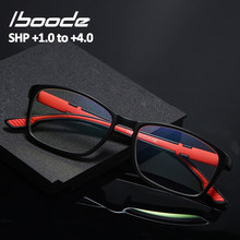Iboode-gafas de lectura ultraligeras y ligeras para hombre y mujer, lentes portátiles flexibles clásicas para Ordenador + 1,0 1,5 2 2,5 3