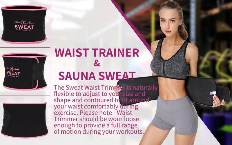 Latex Sweat Waist Trainer