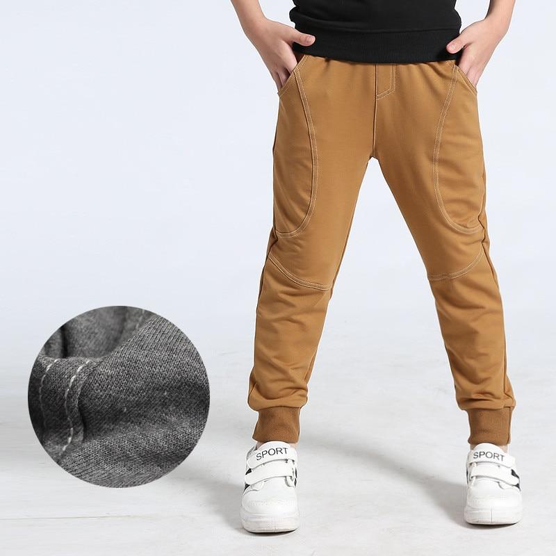 VIDMID Kids Pants 6-14years Boys Casual plaid Pants Kids Clothing Cotton Boys Long Trousers Children Boys Clothing pants 4102 34 3