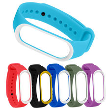 Bracelet for Xiaomi Mi Band 3 4 NFC Sport Strap watch Silicone wrist strap For xiaomi mi band 3 4 bracelet Miband 4 3 Strap(China)