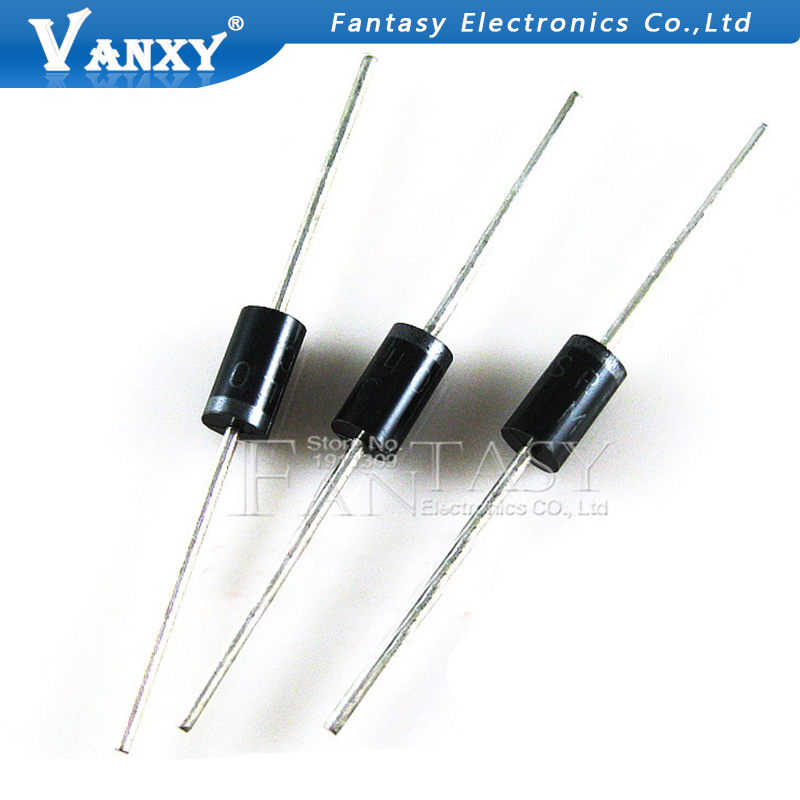 20PCS SR560 60V 5A SB560 DO-15 Schottky Diode