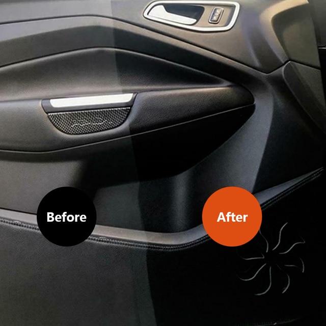 30 ML Hot car plastic parts retouching agent repair interior retouching wax instrument panel wax agent Retreading Coating Paste 4