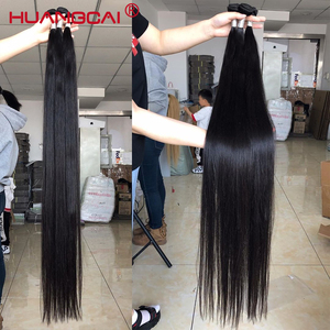 8-34Inch 36 38 40 Inch Brazilian Hair Weave Bundles Straight 100% Human Hair 3/4 Bundles Natural Color Remy Hair Extensions