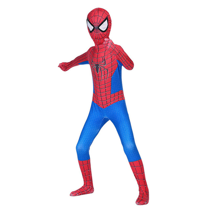 Extraordinary Spider-Man Pantyhose Children's Heroes Returned Siamese Anime Cosplay Costumes and Masks 3