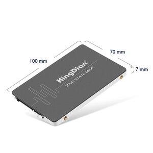 Image 2 - KingDian SSD 1 تيرا بايت 128 جيجابايت 256 جيجابايت 512 جيجابايت SSD 2.5 SATA SATAIII 2 تيرا بايت HDD الداخلية الحالة الصلبة القرص الصلب SSD القرص لأجهزة الكمبيوتر المحمول الكمبيوتر