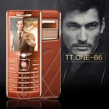 VTRETU B6 bar Luxury Mobile Phone  Metal Body Bluetooth   MP3 FM High-end Keyboard Phone