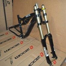 """2"""" MTB горный велосипед вилка магниевого сплава Блокировка Шокирующая вилка 20 мм горный велосипед Подвеска вилка"""