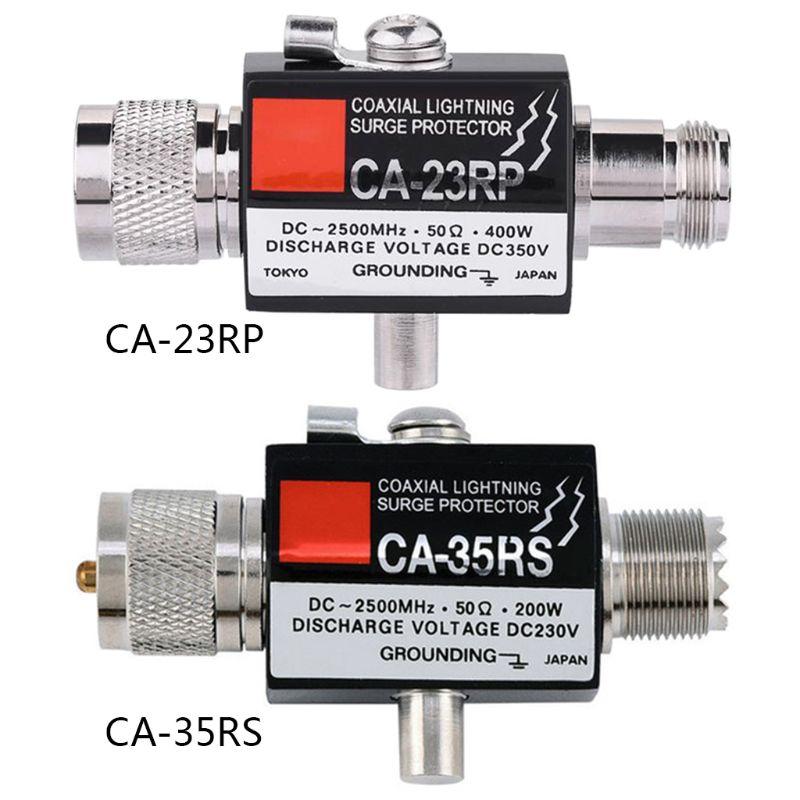 CA-35RS CA-23RP pl259 so239 repetidor de rádio coaxial anti-relâmpago antena protetor contra surtos