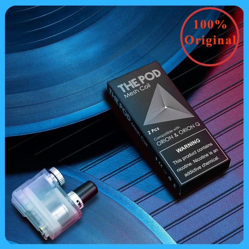 2pcs/pack Original The Pod IQS Mesh Coil For Orion DNA & Orion Q Pod Replacement Electronic Cigarette IQS Pod