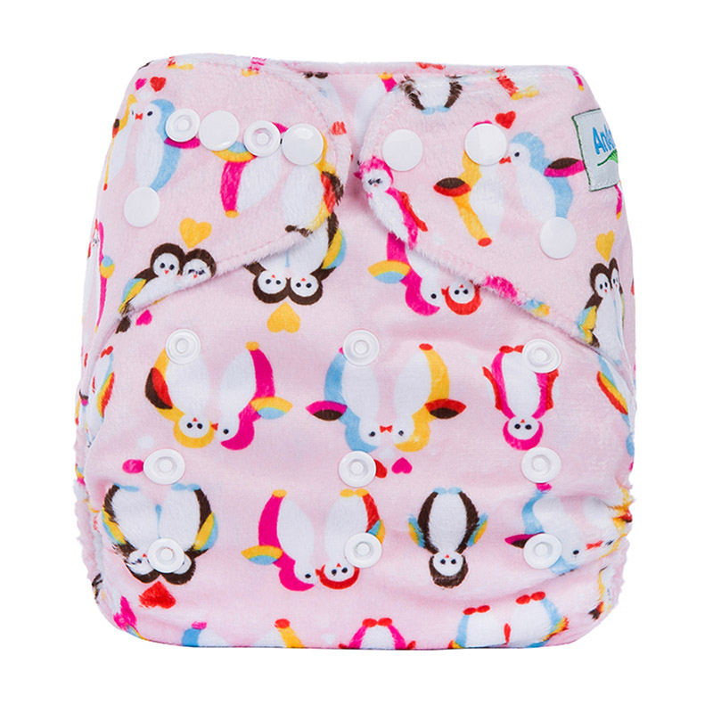 Cloth Diapers Reusable One Size Colourful Ecology Diapers Modern Washable Baby Nappy Pants D16