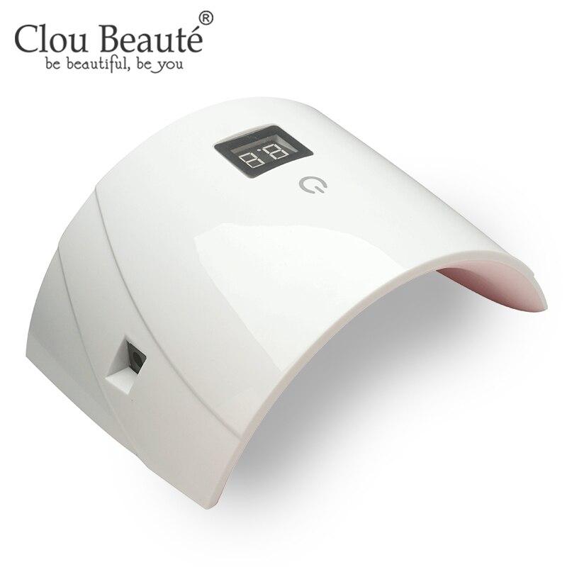 Clou Beaute 36W UV LED Lamp Nail Dryer Fast Dry US/EU/UK Plug Nail Lamp For Nails Manicure Gel Nail Lamp Drying Lamp Gel Varnish
