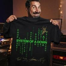 System Of A Down T Shirt Black Cotton Men S-6XL Made in USA