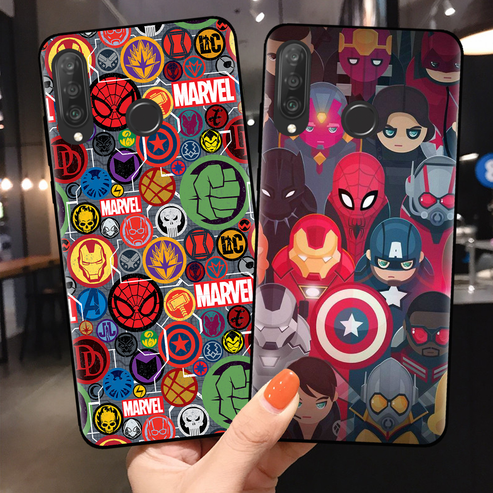 Hor For Coque Huawei P30 P20 P10 Lite Pro Cool Marvel Cases For ...