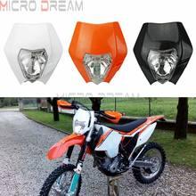 Pour EXC 525 Racing MX Enduro XC-W XCF Dirt Bike phare carénage Supermoto phare pour WR TTR XCF SX XC F 125 250 350 450 SMR