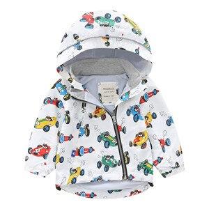 Детская ветрозащитная куртка с капюшоном, водонепроницаемая бархатная куртка для мальчиков и девочек на осень и зиму, 2019