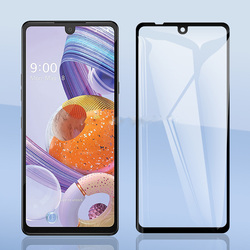 На Алиэкспресс купить стекло для смартфона 9h tempered glass for lg stylo 6 full gule cover 9h protective film case screen protector for lg stylo6 6.8дюйм. glass