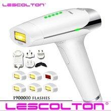 Lescolton mais lâmpadas t009 ipl laser máquina de depilação a laser depilador depilação permanente biquíni trimmer depilador a laser