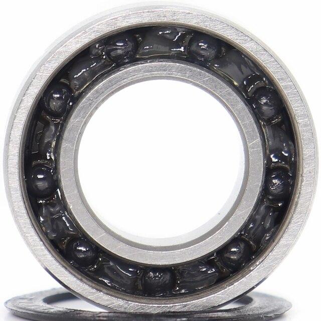 6800 roulement céramique hybride 10x19x5mm ABEC-1 ( 1 PC) supports de pédaliers de vélo et pièces de rechange 6800RS Si3N4 roulements à billes