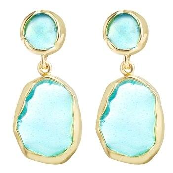 Geometric Shell Earrings For Women Earrings Jewelry Women Jewelry Metal Color: CS535160