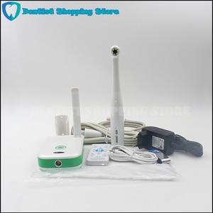 Image 1 - Led 2.0 mega oral dental câmera intraoral vga câmera 1/4 sony ccd focagem automática dentes foto tiro