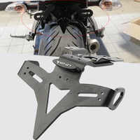 Motorcycle Rear License Plate Holder Bracket Bracket Tail Tidy Fender Eliminator For Yamaha MT-07 FZ-07 MT07 FZ07 2013 2014-2019
