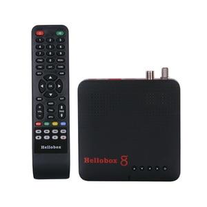 Image 5 - Hellobox 8 수신기 위성 TV 수신기 H.265 DVB S2X 10Bit 콤보 TV 박스 DVB S2/T2/C 셋톱 박스 PC/핸드폰/태블릿 재생 TV