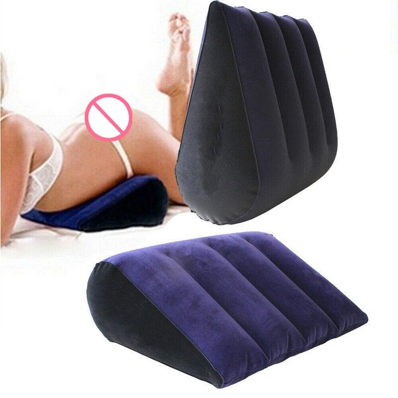 Подушка для секса переносная, подушка на танкетке, с поддержкой положения тела, треугольная, с функцией сексуальной любви, мебель для пар, на...