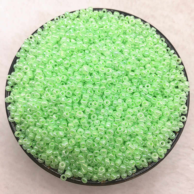 Lote de 200 a 1000 unidades de 2, 3 y 4mm de cuentas de cristal checo, cuentas de semilla espaciadora para la fabricación de joyería hecha a mano DIY