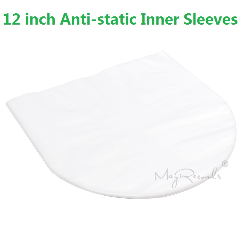 50 Clear Anti-static 3 Mil Plastic Vinyl Record Inner Sleeves For 12   LP LD