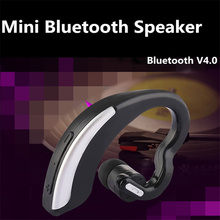 Hot business wireless Bluetooth headset stereo ear-mounted microphone for Iphone millet full smart phone