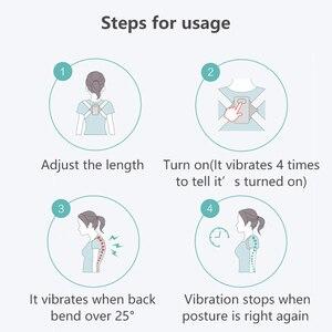 Image 5 - Smart Sensing Back Corrector Electric Posture Trainer Intelligent Brace Support Belt Spine Shoulder Lumber Posture Correction