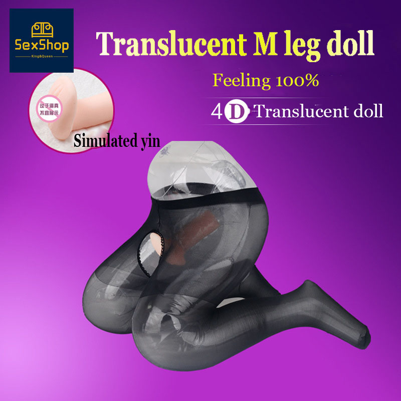 Big Ass Mini Inflatable Sex Dolls Pocket Pussy Sexdoll No Boobs Head Real Doll Sex Toys For Men Love Doll Sexy Shop Fuck Price image