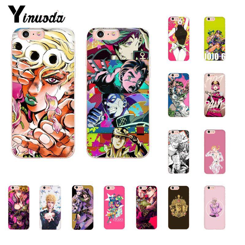 Yinuoda JoJo s Bizarre Adventure JoJo Anime Coque Shell Phone Case for iphone SE 2020 11