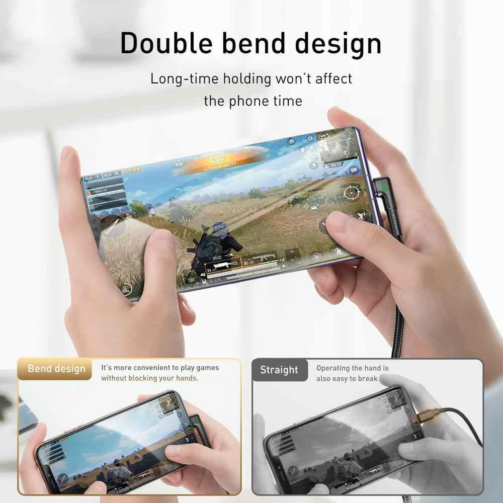 Baseus USB Typ C Kabel für Xiaomi Redmi Hinweis 9s 8 Pro Quick Charge 3,0 USB C Kabel Schnelle lade für Samsung S20 Typ C Kabel