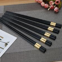 Chinese Style Chopsticks Alloy Restaurant Hot Pot Long Sushi Household Kitchen Utensils