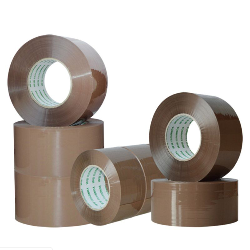 Strong Heavy-Duty Industrial Shipping Box Packaging Tape For Moving, Office, Storage No Noise 45mm X 60 Meter Tape
