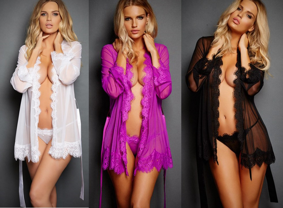 New Sexy Lingerie Women Porno Sleepwear Lace Underwear Sex Clothes Babydoll Erotic Transparent Dress Solid Color Sexy Lingerie