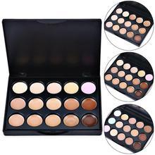 15 цветов, контурный Праймер, покрытие, пятна, консилер, палитра, крем для лица, макияж, тени для век, Праймер, косметическая основа для макияжа, TSML2