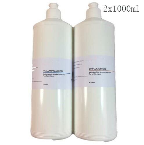 Big Size Hyaluronic Acid LMW Anti-Ageing Collagen Gel RF HIFU Wrinkle Filler 2 X 1000ml