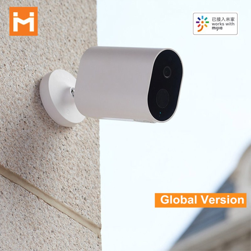 Global Version IMILAB EC2 Smart IP Camera Gateway IP66 1080P AI Humanoid Detection Wireless Security Camera Work With Mijia APP